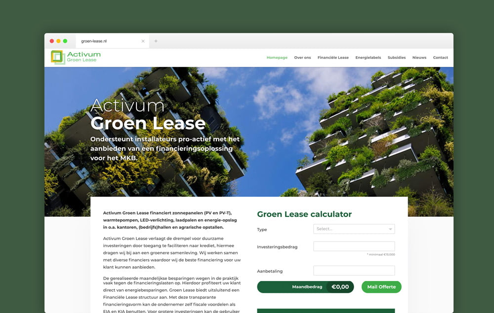 Groen Lease